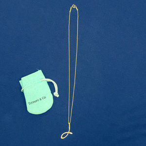 "Elsa Peretti for Tiffany ""J"" Pendant - Sterling"